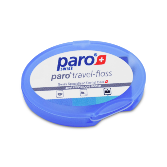 paro® Travel Floss, gewachst, 5m,Packung à 50 Stk.